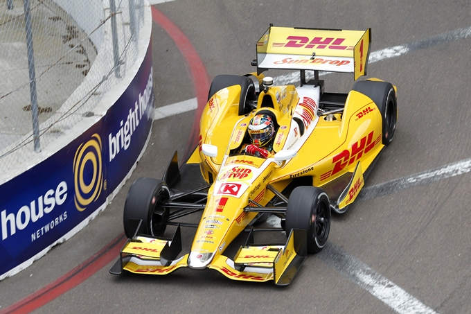 Indycar – Hunter-Reay vince la lotta alla pole con Power