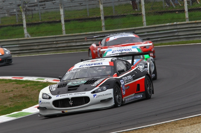 GTSprint International Series – La Maserati MC GT3 dello Swiss Team grande protagonista a Monza