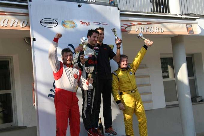 Formula Junior – Sabino De Castro sempre leader