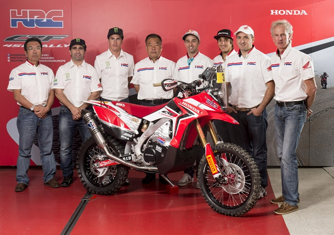 Honda presenta il Rally Team HRC per la Dakar 2014