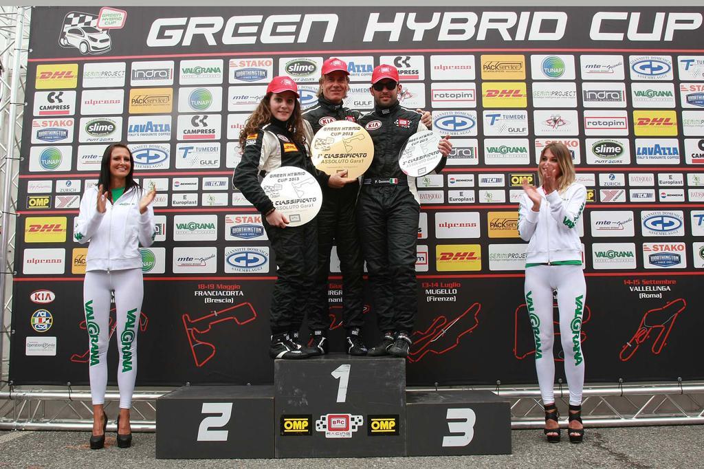 Doppio podio per Alessandra Brena a Franciacorta