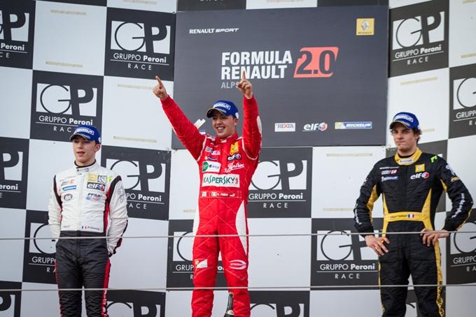 Formula Renault Alps – Imola s'incendia con Fuoco