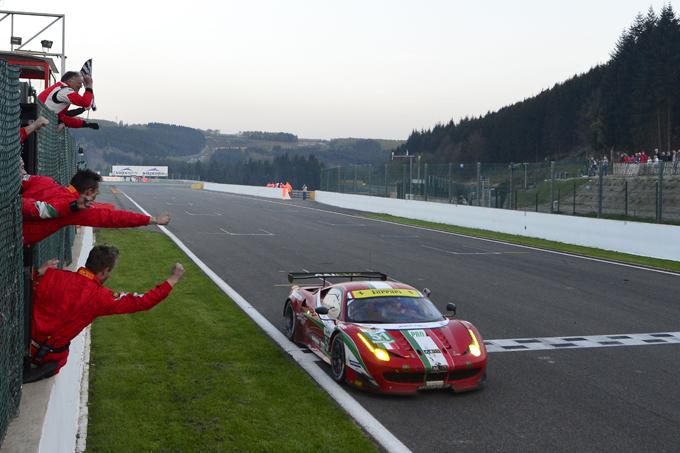6 Ore di Spa – La Ferrari trionfa con Fisichella e Bruni