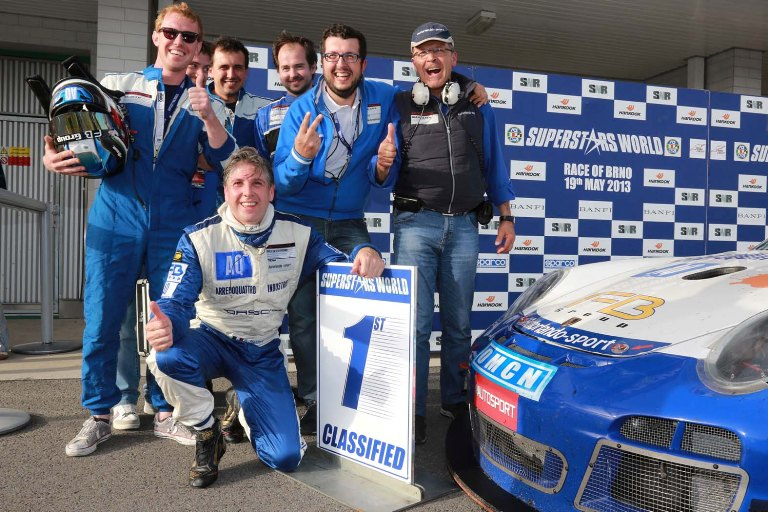 GtSprint International Series- Solieri vince la seconda manche a Brno