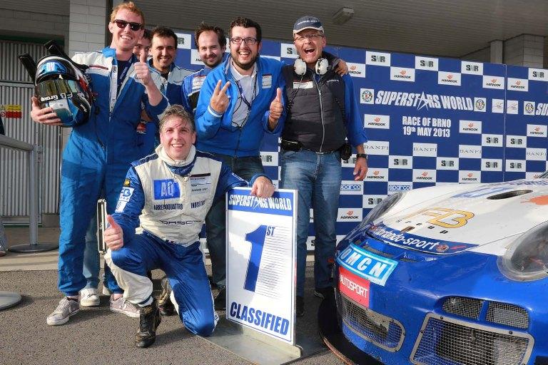 GtSprint International Series- Solieri vince la seconda manche a Brno