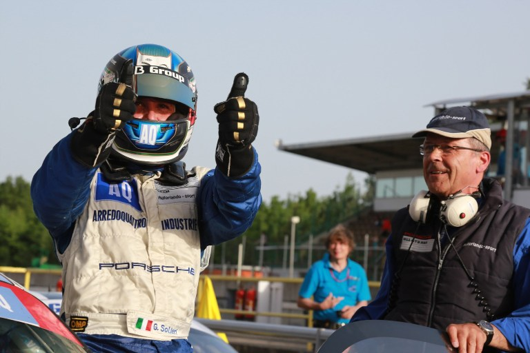 "GtSprint International Series – Solieri: ""Tornare a vincere è stato bellissimo"""