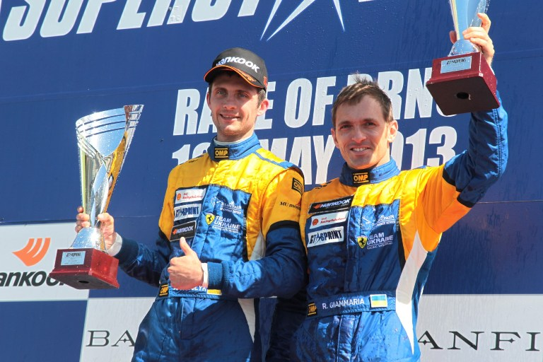 GtSprint International Series – Team Ukraine a caccia del titolo
