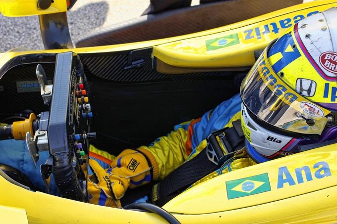 Indycar – Ana Beatriz allo Iowa Speedway con Dale Coyne Racing