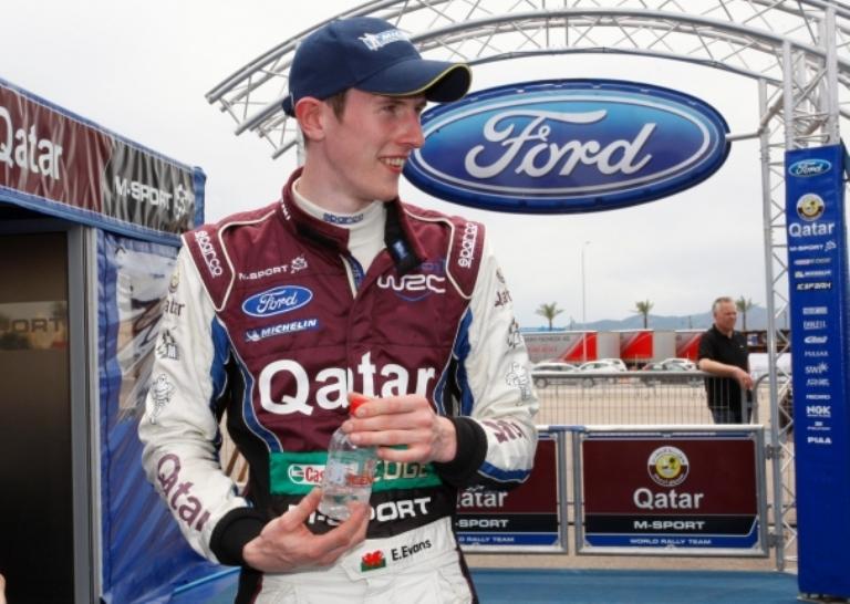WRC – Wilson promuove Evans