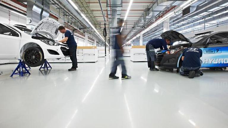WRC – Inaugurata la nuova base Hyundai