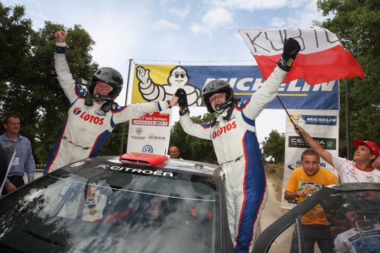 """WRC2 – Kubica: """"Bello aver vinto in Sardegna su un fondo diverso"""""""