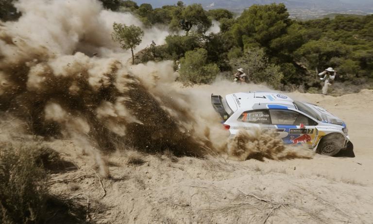 WRC – All'Acropoli Latvala nuovo leader