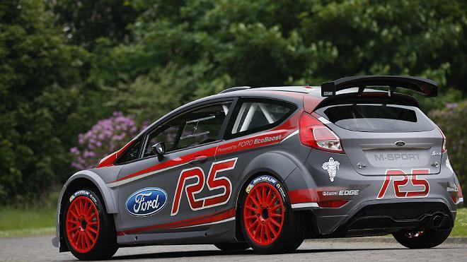 WRC – Presentata la nuova Fiesta R5