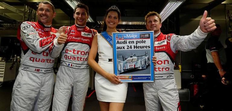 24 Ore di Le Mans – L'Audi di Duval conquista la pole