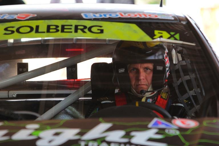 Solberg carico per l'appuntamento di casa del Campionato RallyCross Europeo