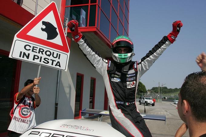 Porsche Carrera Cup Italia – Enrico Cerqui leader a Imola