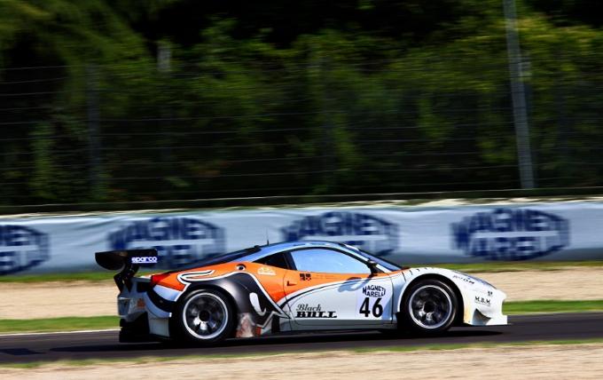 Campionato italiano GT: La Ferrari vince a Imola