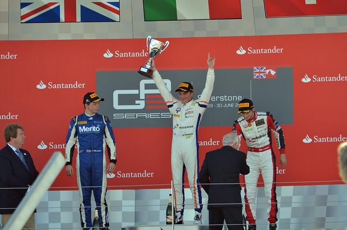 GP3 – Giovanni Venturini eroe a Silverstone