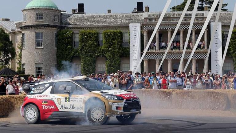 "WRC – Hirvonen: ""Non esiste evento come Goodwood"""