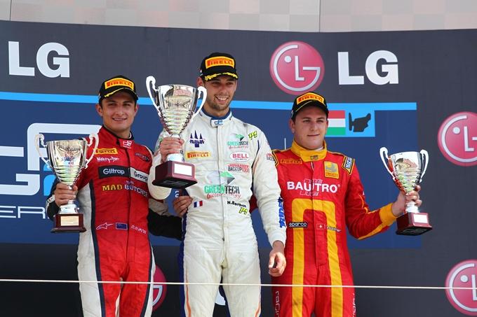 """GP2 – Nathanael Berthon: """"Un successo meritato in Ungheria"""""""
