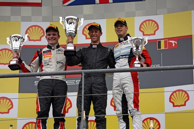 GP3 – Kvyat e Sims, il weekend in Belgio porta il loro nome