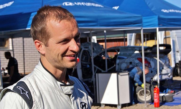 WRC – Test tra i boschi finnici per Hyundai
