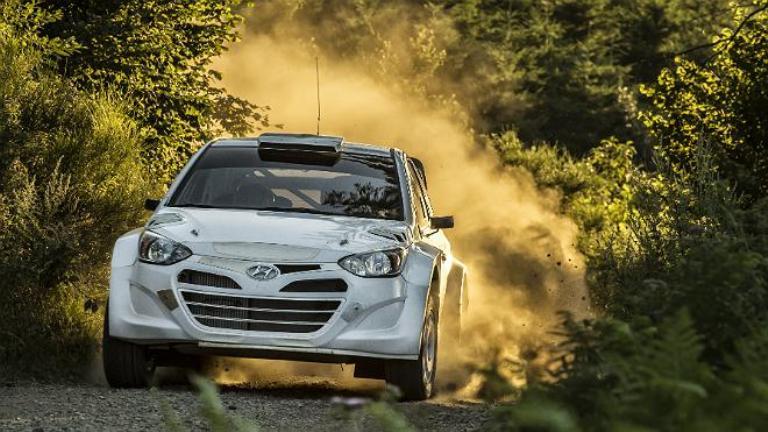 WRC – Test su terra per Hyundai