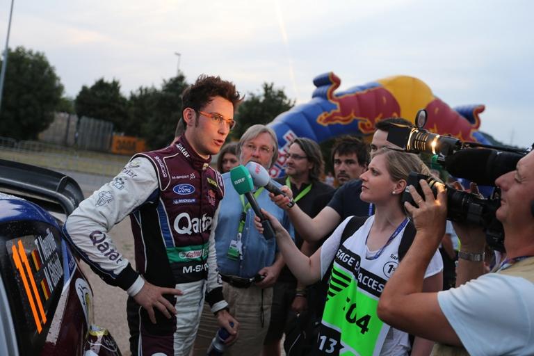 """WRC – Neuville: """"Felice della mia prestazione in Germania"""""""