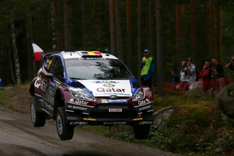 WRC – Neuville leader della tappa iniziale in Finlandia