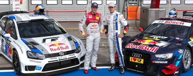 Ogier ed Ekström si scambiano auto