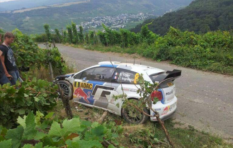 """WRC – Ogier: """"Sono io il responsabile dell'uscita"""""""