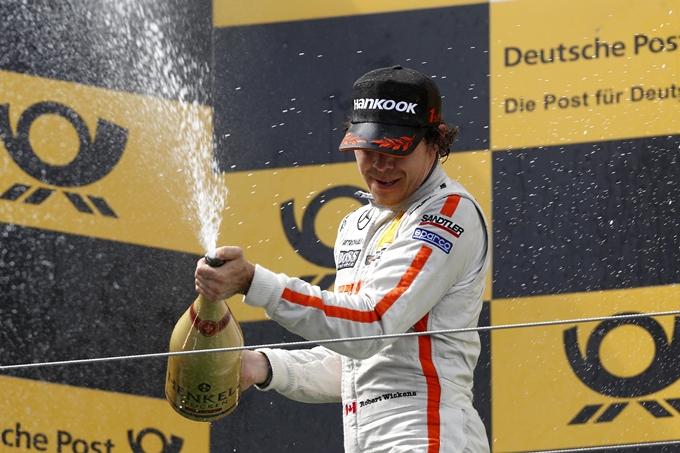 DTM – Robert Wickens suona la prima al Nürburgring
