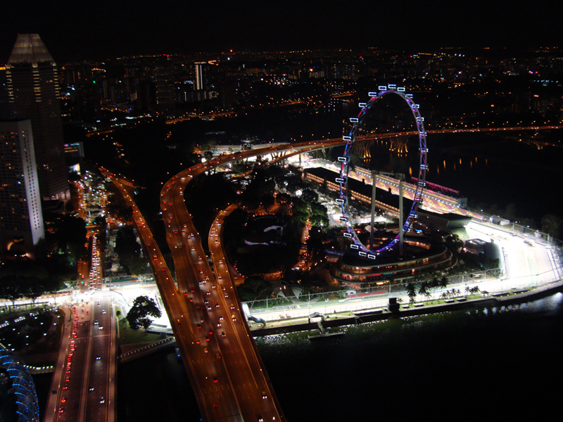 Il made in Italy illumina la notte di Singapore