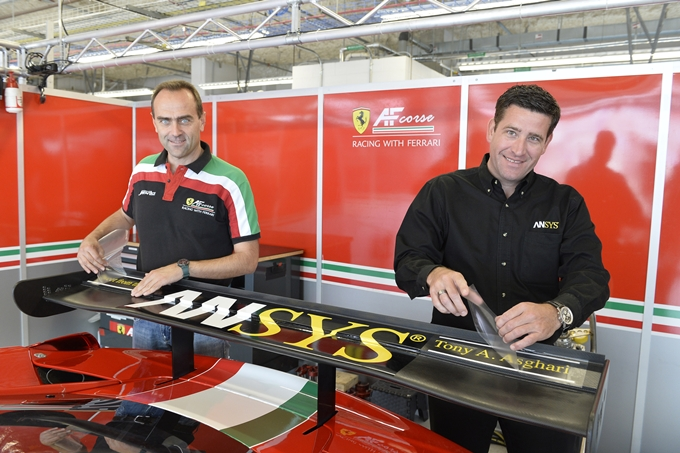 Mike Miller e Luke Koczwara alla corte di AF Corse