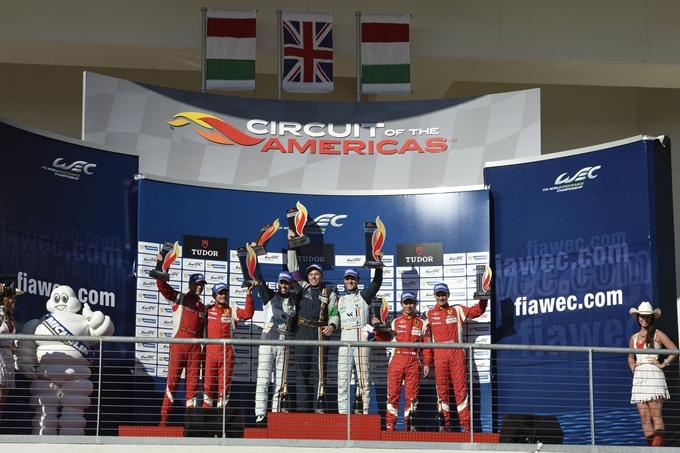 WEC – Bruni e Fisichella sul podio alla 6 Ore di Austin