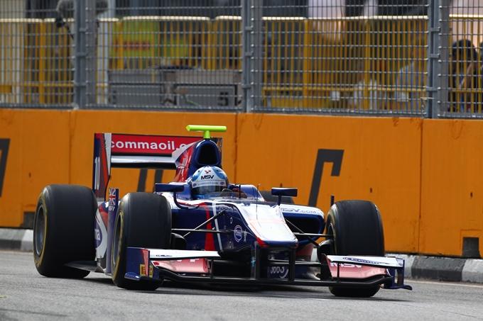 GP2 – Jolyon Palmer poleman a Singapore