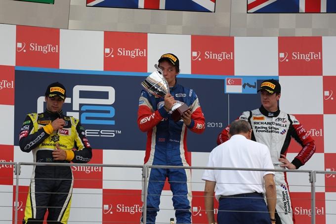 GP2 – Jolyon Palmer non sbaglia a Singapore