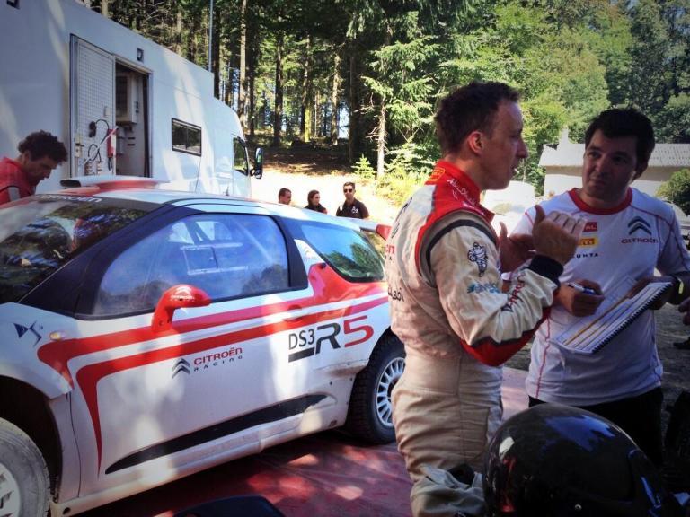 WRC – Meeke prova la nuova DS3 R5