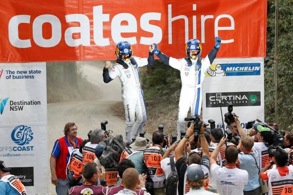 WRC – Ogier domina in Australia