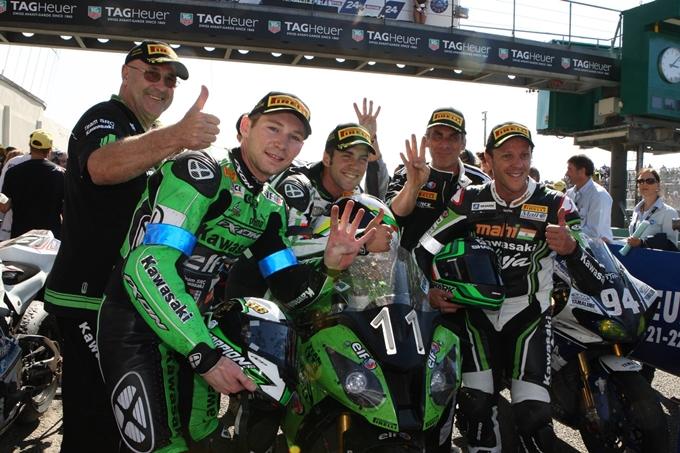 24 Ore di Le Mans Moto – Pirelli trionfa con il team Kawasaki SRC