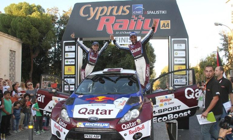 Al-Attiyah fa suo il Rally di Cipro