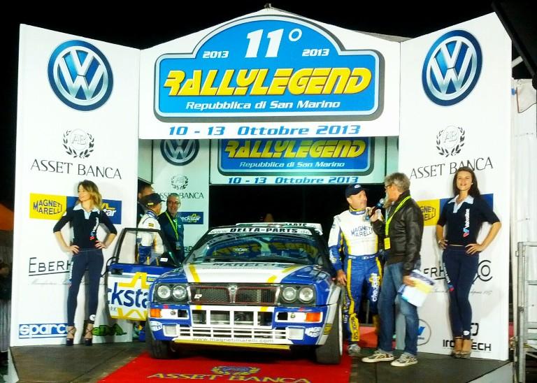 Parte il Rally Legend di San Marino