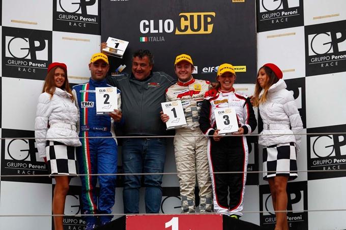 Clio Cup Italia – Melatini e Gironacci leader a Imola