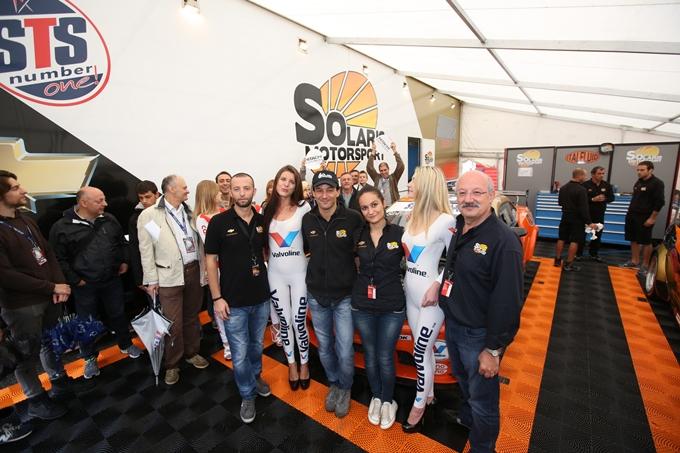 Superstars International Series – Francesco Sini festeggia il primo podio della Chevrolet Camaro