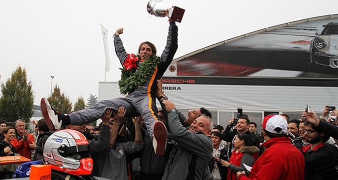 Porsche Carrera Cup Italia – Fulgenzi trionfa a Monza