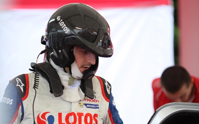 WRC – Kubica su una DS3 ufficiale in Galles