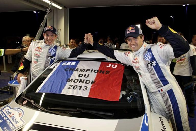 WRC – Ogier campione del mondo