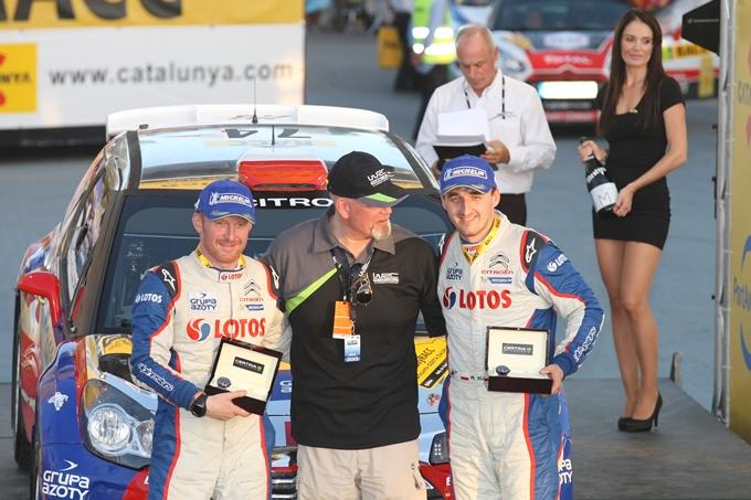 WRC – Kubica in Gran Bretagna con una Citroen DS3 WRC