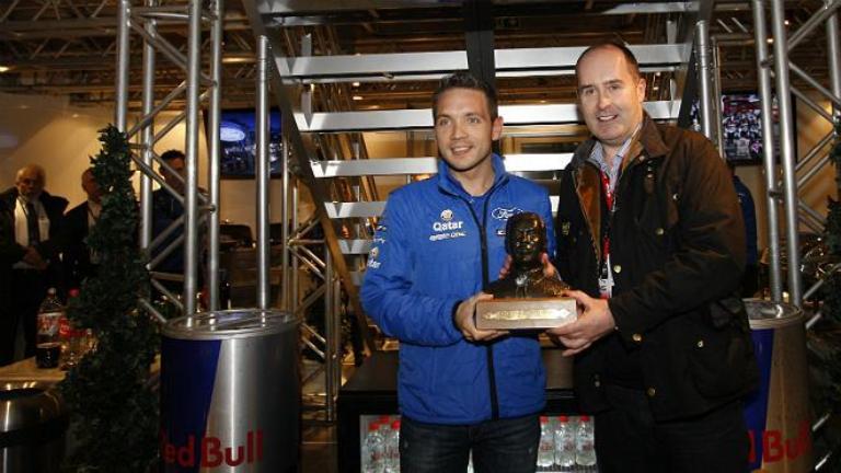 WRC – A Gilsoul il Michael Park 'Beef' Trophy