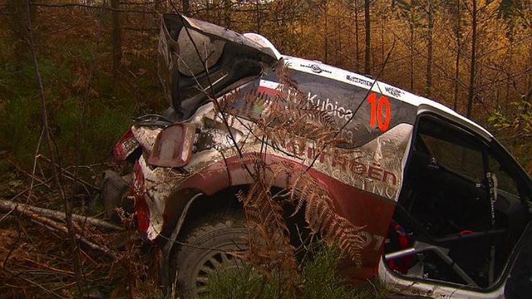 """WRC – Kubica: """"In Galles per fare esperienza e invece due volte out"""""""